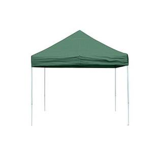 Open Top Pro Pop-up Canopy 10 X 10 Ft ( Green ) with Full Valance