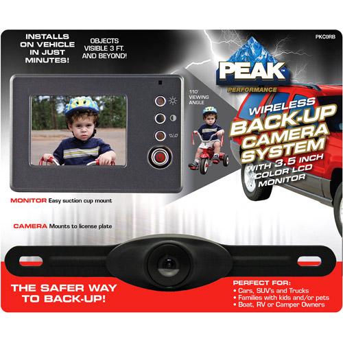 "Peak 3-1/2"" Backup Camera"