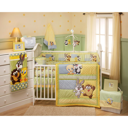 Baby Looney Tunes - Out to Play 4-Piece Crib Bedding Set