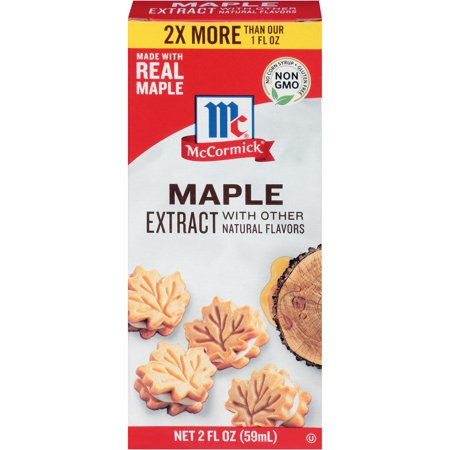 (2 Pack) McCormick Maple Extract, 2 fl oz