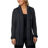 ca7099f3fe Product Image Matty M Women s Shawl Collar Open Cardigan Medium Charcoal
