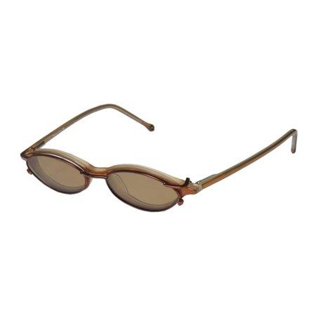 Honey Pearl Set (New Member's Mark 903 Mens/Womens Designer Full-Rim Honey Pearl Plastic Arms Popular Design Frame Demo Lenses 45-15-140 Sunglass Lens Clip-Ons Flexible Hinges Eyeglasses/Glasses )
