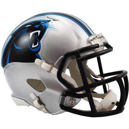 Riddell Carolina Panthers Revolution Speed Mini Football Helmet