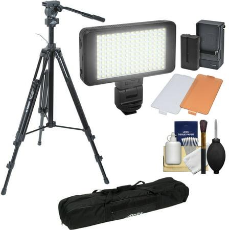Davis   Sanford 78   Provista 18 Heavy Duty Video Tripod With Fm18 Fluid Head   Case   Led Light Kit   Cleaning Kit