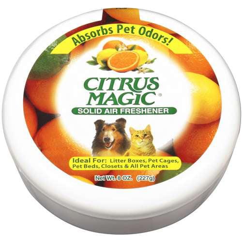 Citris Magic: Solid Pet Care Air Freshener, 8 Oz