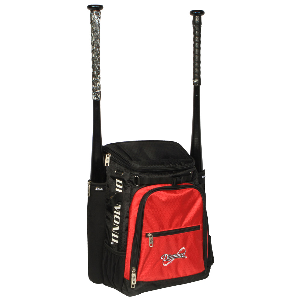 Diamond Zone BatPack Baseball/Softball Backpack Bag