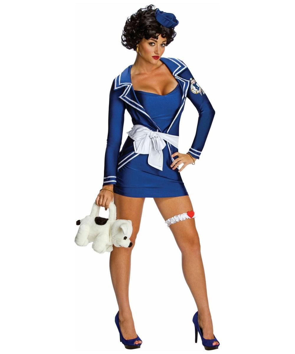 sc 1 st  Walmart & Betty Boop Sailor Adult Costume - Large - Walmart.com