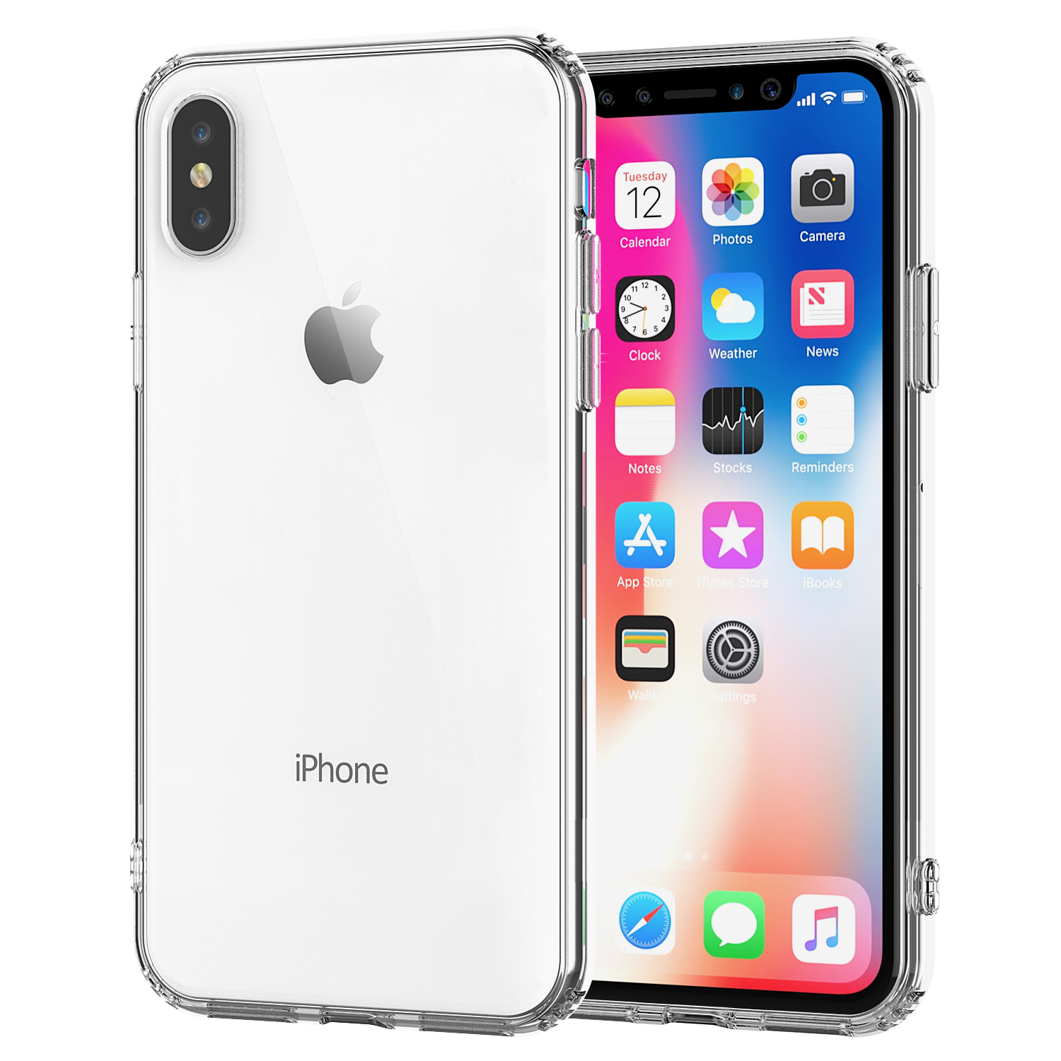 Shamo's Clear Case for iPhone X