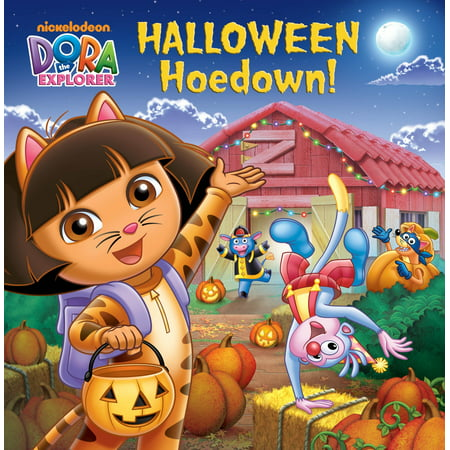Halloween Hoedown! (Dora the Explorer)](Dora The Explorer Coloring Pages Halloween)