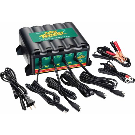 Battery Tender International 12 V 4 Station Battery Charger P/N 022-0148-DL-WH
