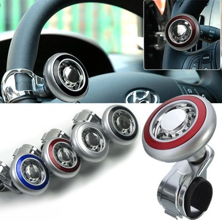 New Hot Hand Control Steering Wheel Power Car/Auto Grip Spinner Knob Handle Turning Ball ABS Stainless Unversal Morse Steering Controls