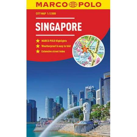 Singapore Marco Polo City Map: 9783829759243 ()