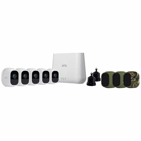 Arlo Pro 2 5-camera Wire-free 1080P HD Security System VCS5000C-100NAS  Surveillance Camera Set
