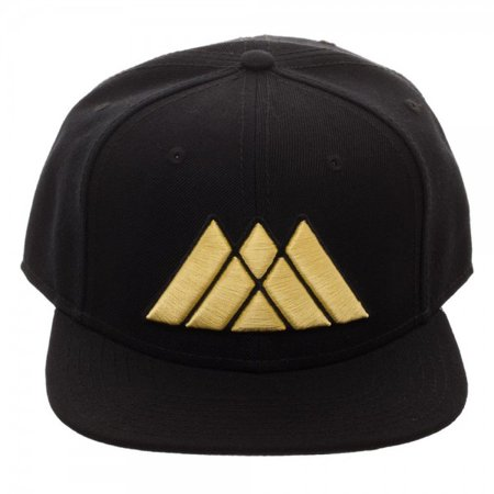 Warlock Hats (Baseball Cap - Destiny 2 - Warlock Black Snapback New Licensed sb5yn5de2 )