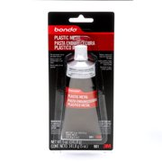 Bondo Plastic Metal, 00901, 5 oz, 1 Tube
