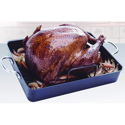 "T-fal 16"" x 10"" Basic Nonstick Easy-Care Roasting Pan"