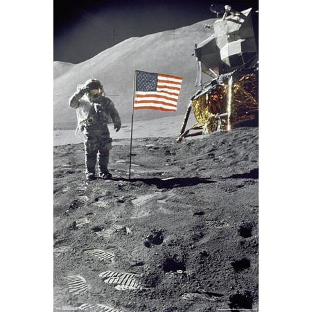 Apollo 15 Salute Poster - Apollo 18 Poster