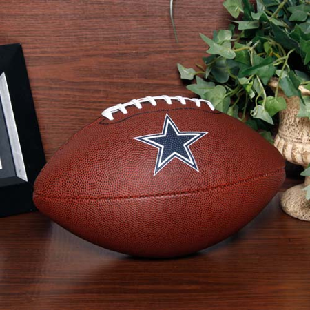 Dallas Cowboys Rawlings Game Time Official Size Football - No Size