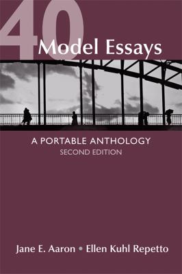 40 Model Essays: A Portable Anthology - Walmart.com