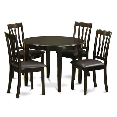 Wooden Importers Boston 5 Piece Dining Set