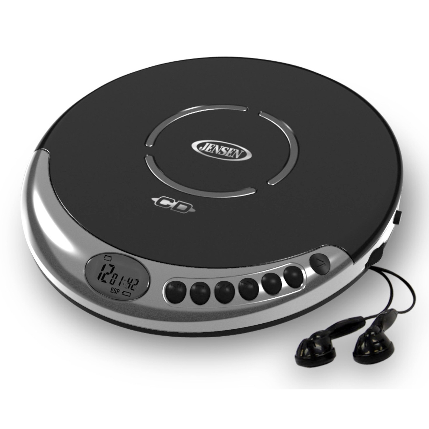 "Spectra Mechandising CD-60C 5.7"" Personal CD Player With Bass Boost"