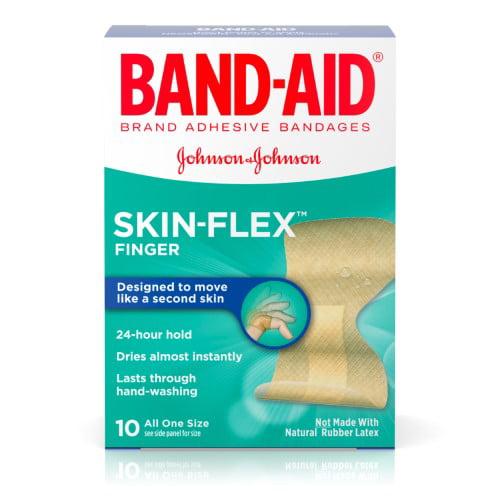 Band-Aid Skin-Flex - 10 Ct (Pack of 4)