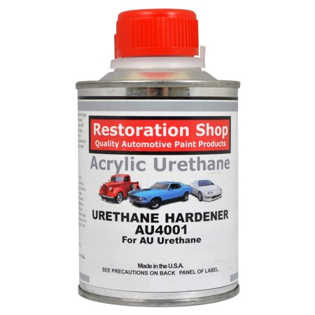 Half Pint Acrylic Enamel Urethane Hardener Automotive Car Auto Body Paint Au4001