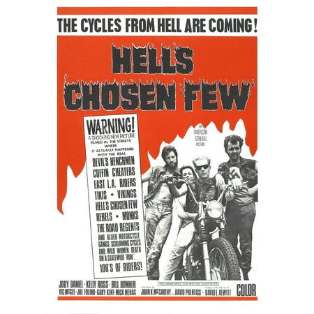 - Hells Chosen Few 1968 Movie Poster Masterprint