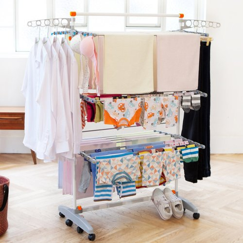 Rebrilliant Premium Clothes Drying Rack Walmartcom