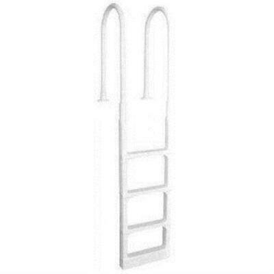 Main Access 200300 Pro Series Pool Deck Ladder, White