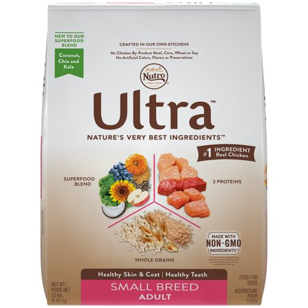 Nutro Ultra Dog Food >> Nutro Ultra Small Breed Adult Dry Dog Food 15 Pounds