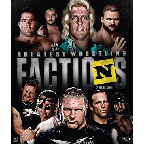 WWE: Wrestling's Greatest Factions (Blu-ray)