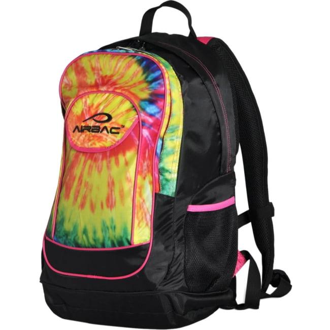 "Airbac Groovy 17"" Laptop Backpack, Rainbow"