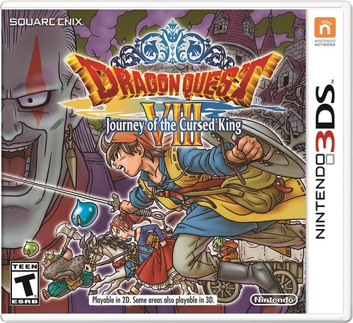 Dragon Quest VIII: Journey of the Cursed King, Nintendo, Nintendo 3DS, 045496743727