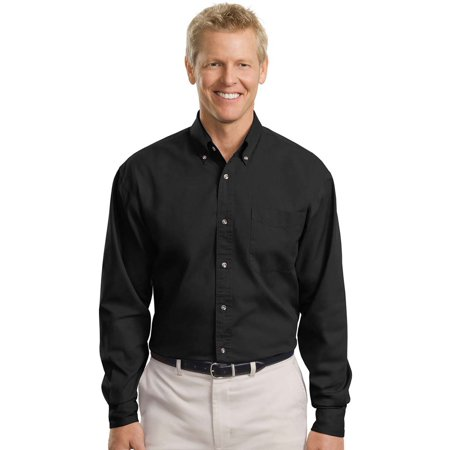 Port Authority Men's Big And Tall Long Sleeve Twill Shirt