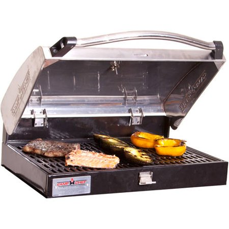 Camp Chef Deluxe Stainless Steel BBQ Box, Silver, Silver
