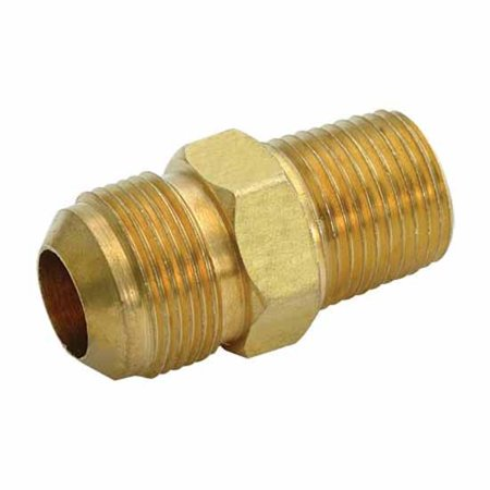 Adapter Fitting Flare - Ez-Flo 62731 Brass Flare Gas Fittings - Male Adapter