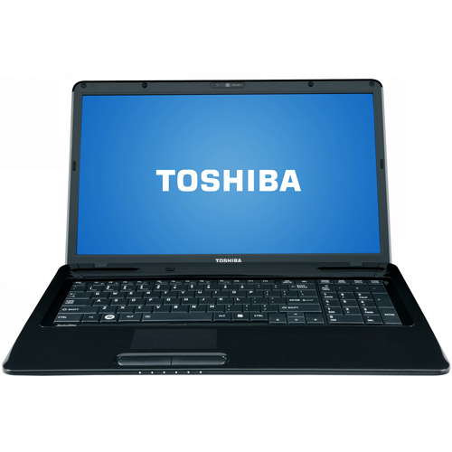 "Refurbished Toshiba L675D-S7015 Laptop 17.3"" AMD Athlon II P320 4GB Memory 500GB Drive Win 7"