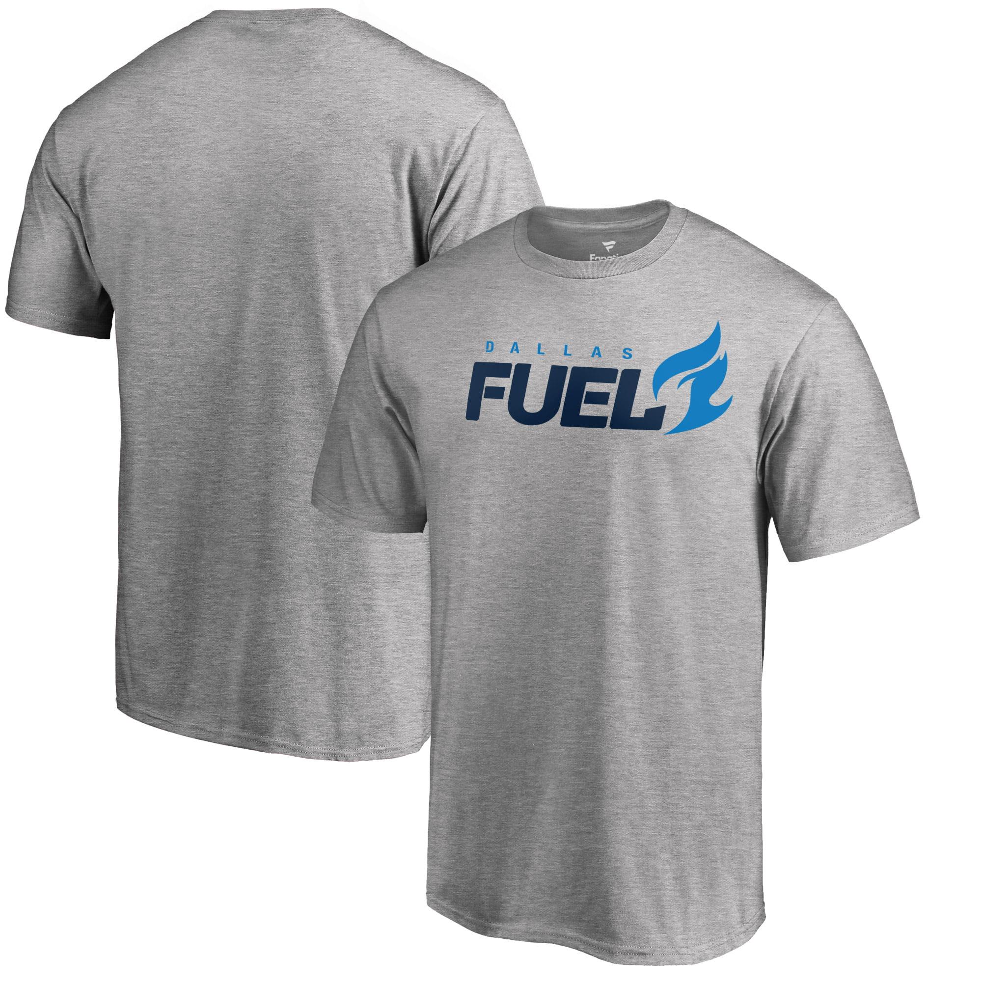 Dallas Fuel Fanatics Branded Team Identity T-Shirt - Heathered Gray