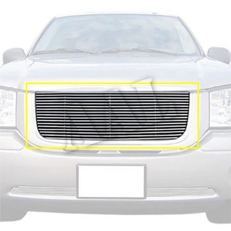 AAL REPLACEMENT BILLET GRILLE / GRILL INSERT For 2001 2002 2003 2004 2005 2006 2007 2008 2009 GMC ENVOY 1PC UPPER REPLACEEMENT 2005 Gmc Envoy Grille
