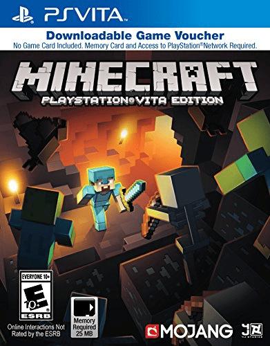 Minecraft Game Voucher PlayStation Vita by Sony
