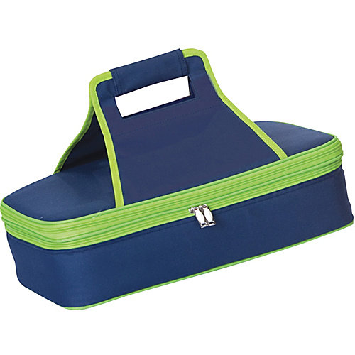 Entertainer Hot and Cold Food Carrier in Navy
