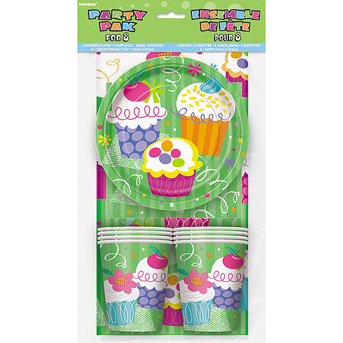 Cupcake Party Kit for 8