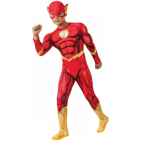 Deluxe Flash Child Costume - Large