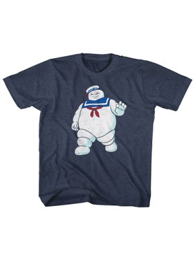 The Real Ghostbusters Animated TV Series Mr. Stay Puft Little Boys T-Shirt Tee