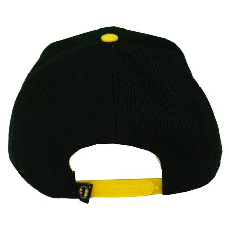 Batman Sports Team Logo DC Comics Superhero Adult Adjustable Flat Bill Hat Cap - image 1 de 2