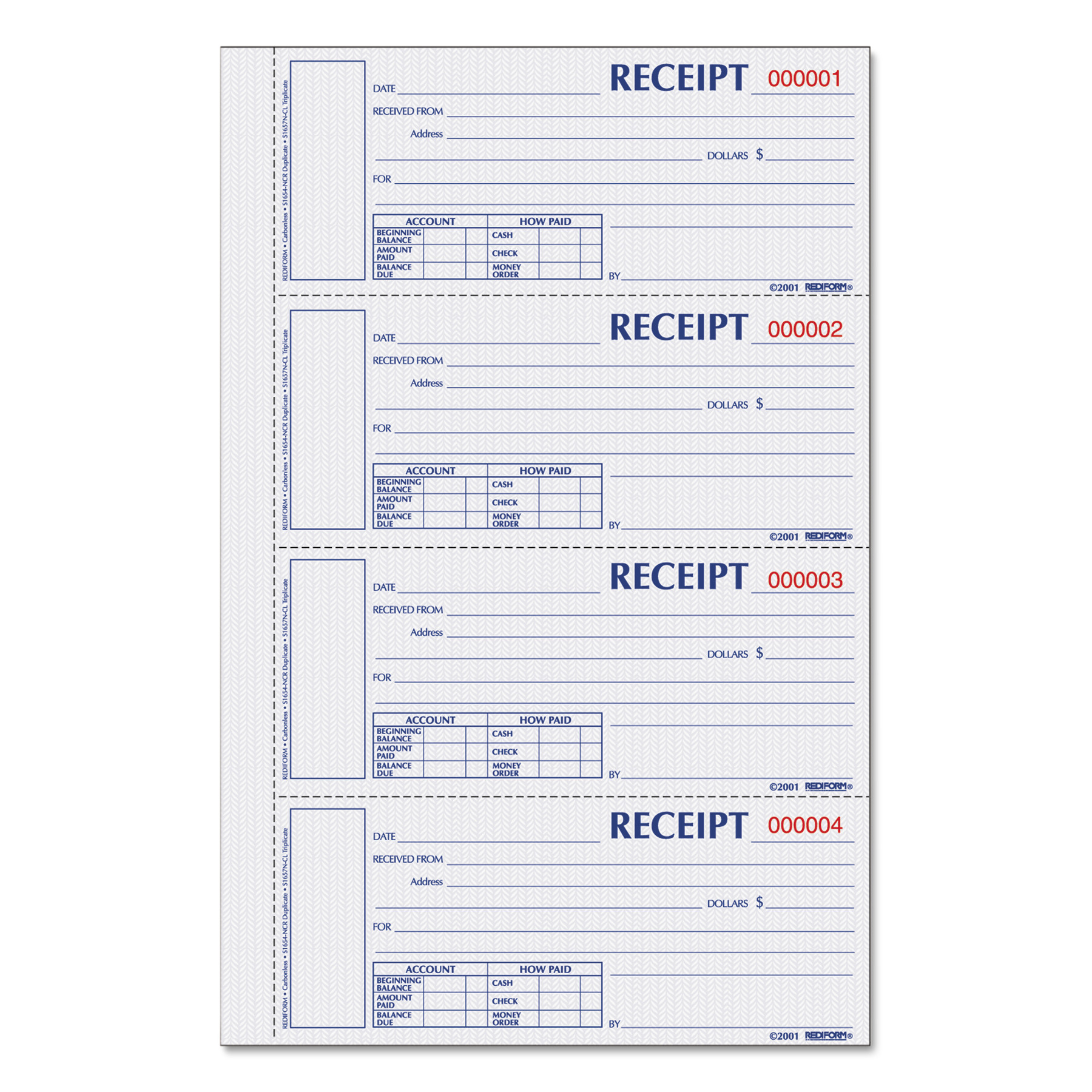 Free Invoice Program Pdf Receipt Books Canada Invoice Template Pdf with Invoice Of Payment Rediform Hardcover Numbered Money Receipt Book   X   Invoice Terms Net Pdf