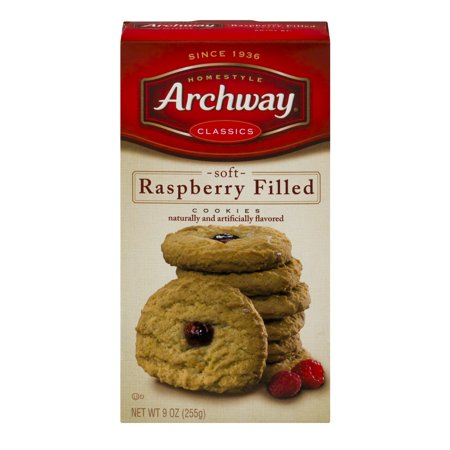 Archway Classics Soft Raspberry Filled Cookies  9 0 Oz