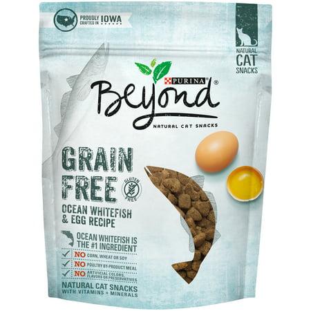 Purina Beyond Grain Free Ocean Whitefish & Egg Recipe Natural Cat Treats, 2.1 Oz. - Halloween Egg Recipes