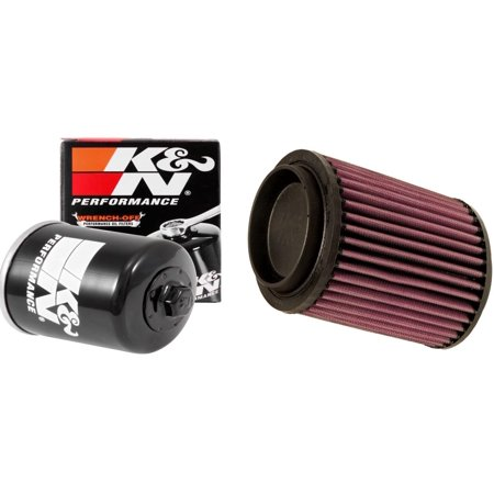 k n air and oil filter black kit for atv utv polaris. Black Bedroom Furniture Sets. Home Design Ideas